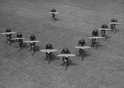 Photograph - Air Cadets by Kurt Hutton