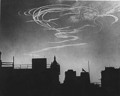 Air Raid Pattern Art Print by David Savill