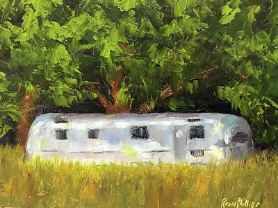 Painting - Air Stream On The Toogoodoo by Rosie Phillips
