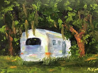 Painting - Air Stream Stop by Rosie Phillips