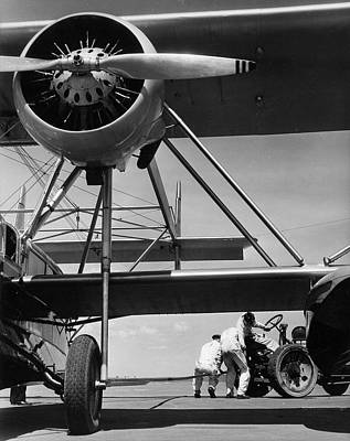 Photograph - Airplane Attachment by The New York Historical Society