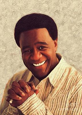 Music Royalty-Free and Rights-Managed Images - Al Green, Music Legend by John Springfield