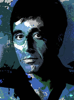 Wine Glass - Al Pacino by Stars on Art