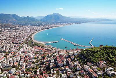 Photograph - Alanya City And Harbor, Turkey by Barcin
