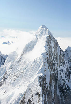 Alaskan Peak Art Print by Earleliason