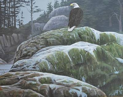 Painting - Alaskan Sentinel by Peter Mathios