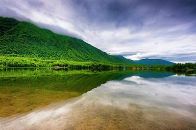 Photograph - Alaska's Mirror Lake by Dee Browning