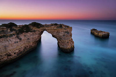 Photograph - Albandeira Arch by Michael Blanchette