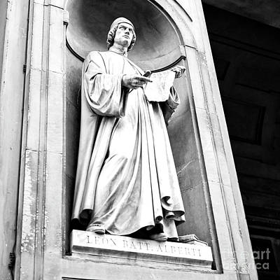 Photograph - Alberti Uffizi Gallery Florence by John Rizzuto