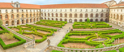Photograph - Alcobaca Monastery Panorama by Benny Marty