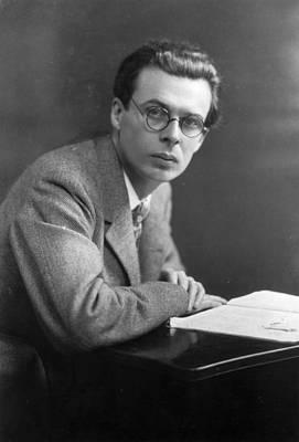 Aldous Huxley Art Print by Edward Gooch Collection