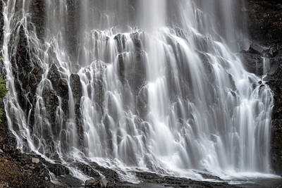 Art Print featuring the photograph Alexander Falls Close Up by Pierre Leclerc Photography
