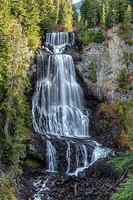 Art Print featuring the photograph Alexander Falls Of The Callaghan Valley by Pierre Leclerc Photography