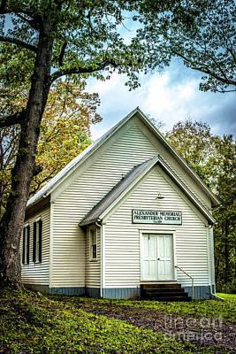 Photograph - Alexander Memorial Presbyterian Church by Thomas R Fletcher