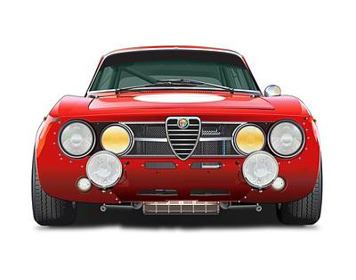 alfa romeo GTA No Background Original