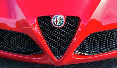Photograph - Alfa Romeo by Stewart Helberg