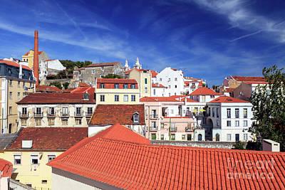 Photograph - Alfama Colors Lisbon by John Rizzuto