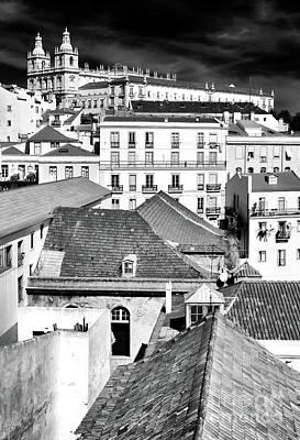 Photograph - Alfama Dimensions Lisbon by John Rizzuto
