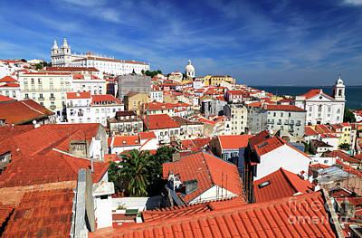 Photograph - Alfama Lisbon by John Rizzuto