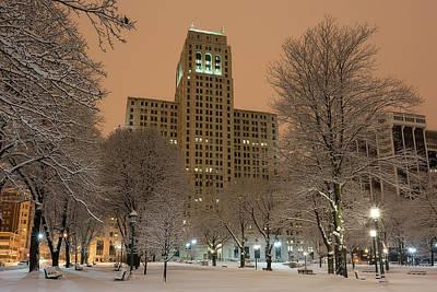 Photograph - Alfred E. Smith Building by Brad Wenskoski