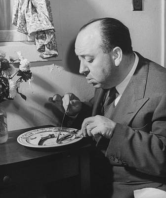 Photograph - Alfred Hitchcock by John Florea