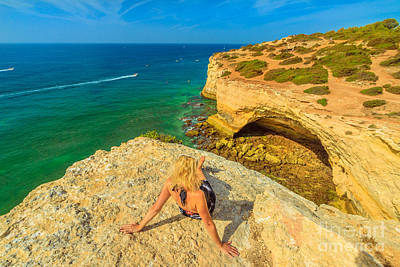 Photograph - Algarve Coast Woman by Benny Marty