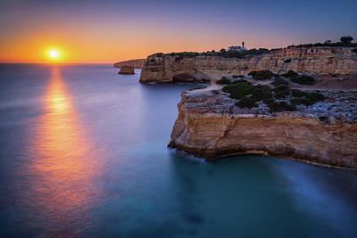 Photograph - Algarve Headlands by Michael Blanchette
