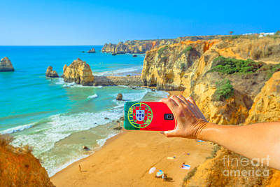 Photograph - Algarve Summer Holidays by Benny Marty