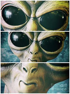 Keith Richards - Alien Eyes by Gary Richards