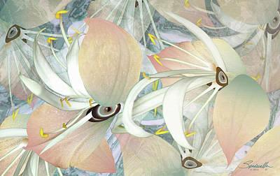 Digital Art - Alien Flowers by Spadecaller