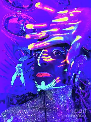 Wall Art - Photograph - Alien Shaman by Judith Z Miller