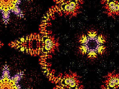 Digital Art - Alien Space Wars 7d by Artist Dot