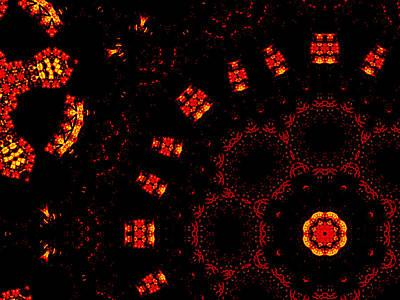 Digital Art - Alien Space Wars 7g by Artist Dot