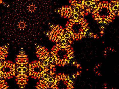 Digital Art - Alien Space Wars 7i by Artist Dot