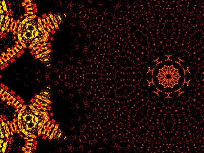Digital Art - Alien Space Wars 7l by Artist Dot