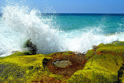 Photograph - Aliso Point Splash - Laguna Beach by Glenn McCarthy Art and Photography
