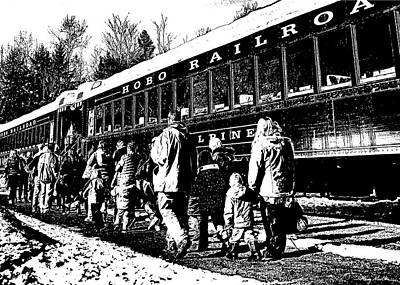 Photograph - All Aboard by Harry Moulton