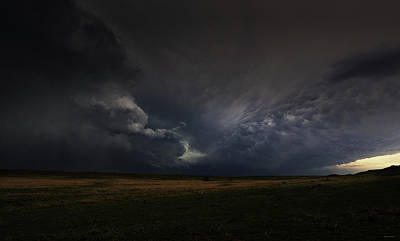 Photograph - Alone In The Dark Under Heavenly Skies by Brian Gustafson