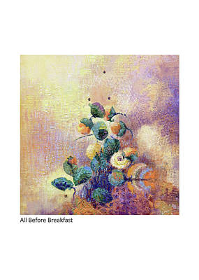 Painting - All Before Breakfast by Betsy Derrick
