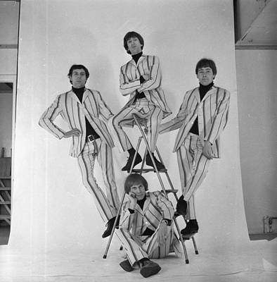 Photograph - All Four Troggs by Harry Dempster