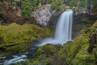 Photograph - All Of Sahalie Falls by Matthew Irvin