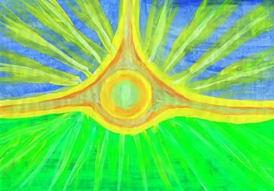 Painting - All-seeing Eye by Irina Dobrotsvet