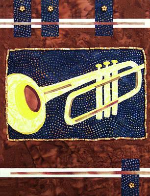 All That Jazz Trumpet Art Print