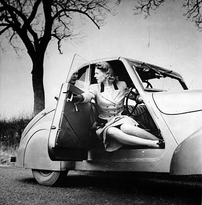 Photograph - All Weather Car by Bert Hardy