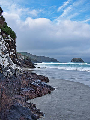 Photograph - Allans Beach 2 - Otago Pensinsular - New Zealand by Steven Ralser