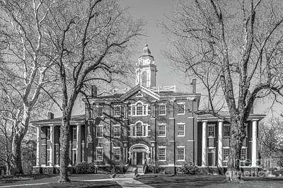 Photograph - Allegheny College Bentley Hall by University Icons