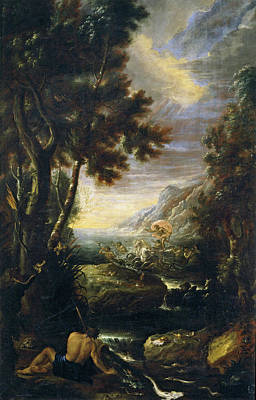 Painting - Allegory Of Water  by Jeronimo Ezquerra