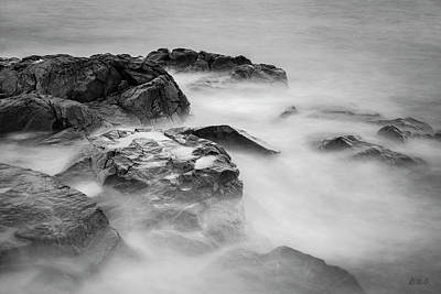 Photograph - Allens Pond Xxviii Bw by David Gordon