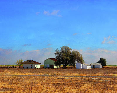 Photograph - Allensworth Farmstead by Timothy Bulone