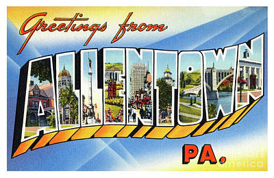 Photograph - Allentown Greetings by Mark Miller